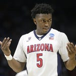 Arizona forward Stanley Johnson was selected by the Pistons in the No. 8 pick in draft.