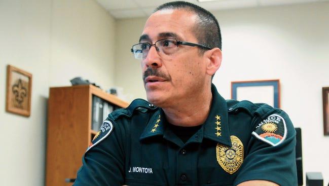 Las Cruces Police Chief Jaime Montoya