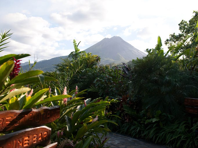 Arenal Nayara Hotel & Gardens, Costa Rica: This 12-acre hilltop property not only sits on beautiful, uber-remote grounds – with unobstructed views of the Arenal Volcano – but even the rooms have an ultra-private vibe, with each being a separate bungalow tucked into the lush surroundings. Special touches include outdoor garden showers and decks with whirlpools and hammocks.