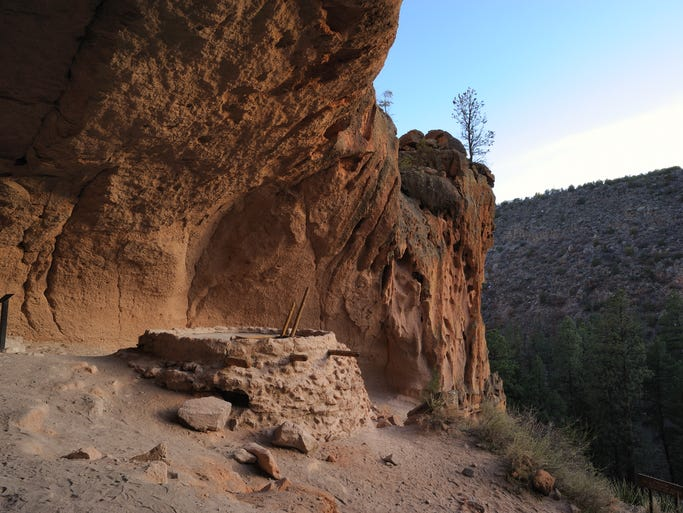 Sixteen miles from Los Alamos, Bandelier National Monument protects thousands of Ancestral Pueblo ruins of a civilization that peaked here in the 1200s.