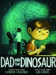 """""""Dad and the Dinosaur"""" written by Gennifer Choldenko"""