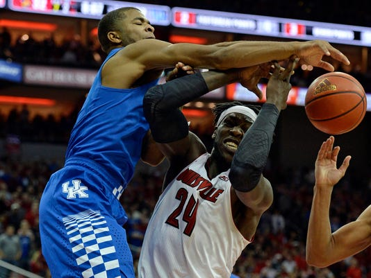 NCAA Basketball: Kentucky at Louisville