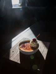 The creme brulee at Butchertown Grocery. Sept. 26, 2017