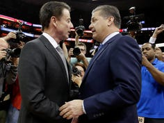 John Calipari wants Rick Pitino to return to UK and be honored by fans