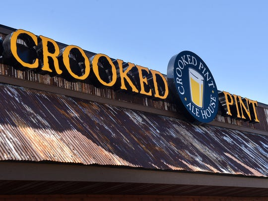 Crooked Pint Ale House in Waite Park is pictured Monday,