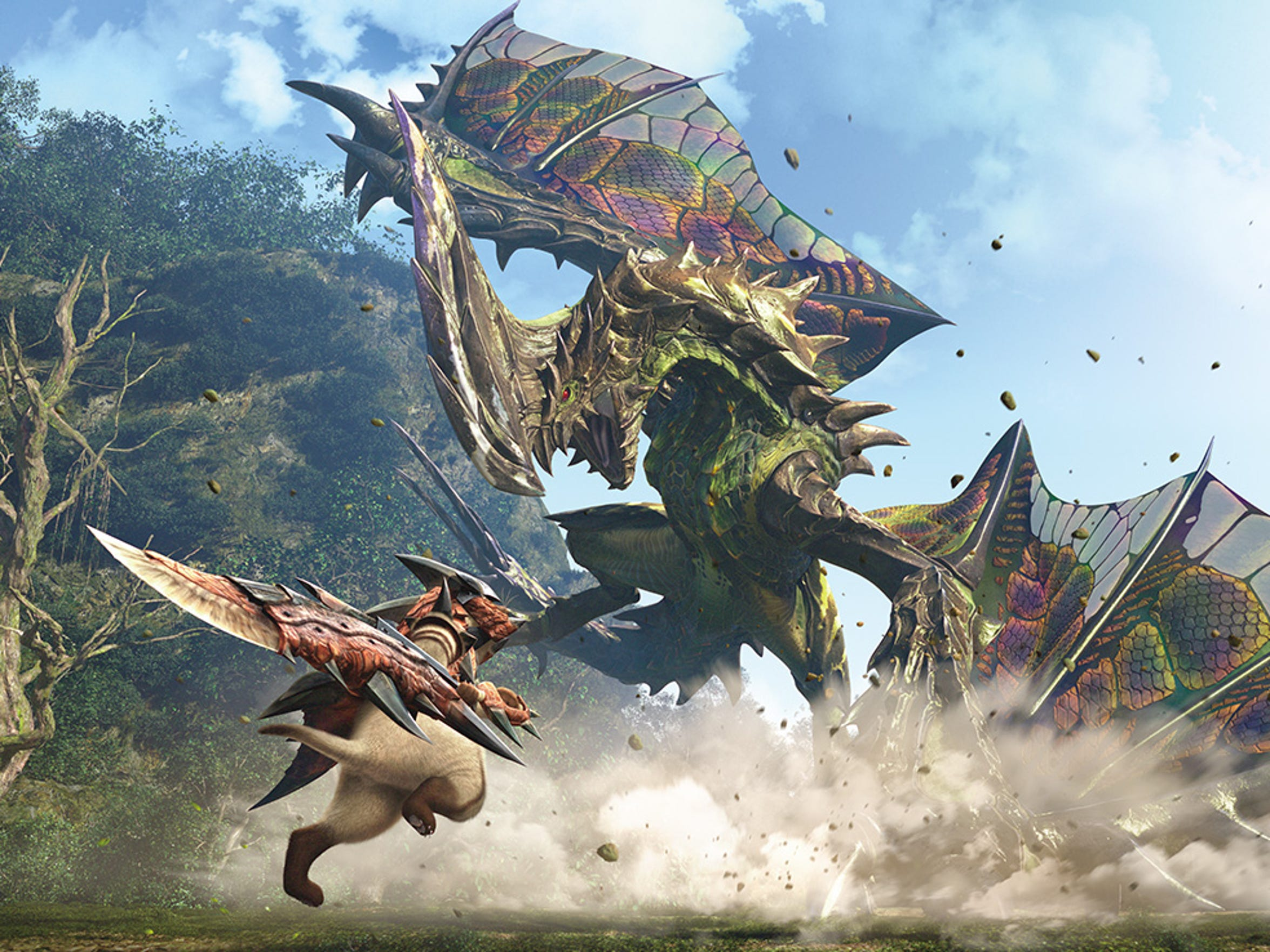 """""""Monster Hunter Generations"""" throws in another bevy"""