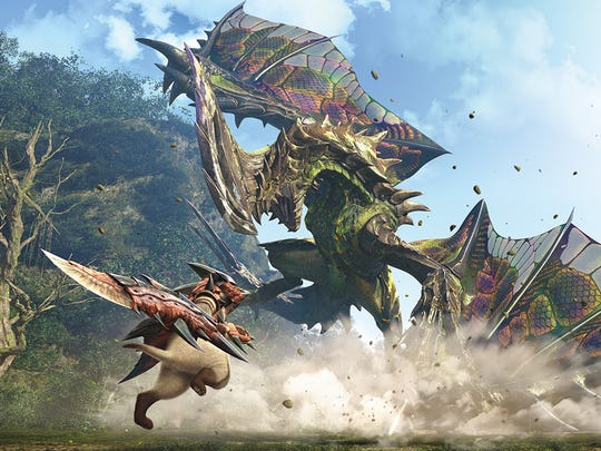 """""""Monster Hunter Generations"""" throws in another bevy of new monsters into the mix alongside older favorites."""