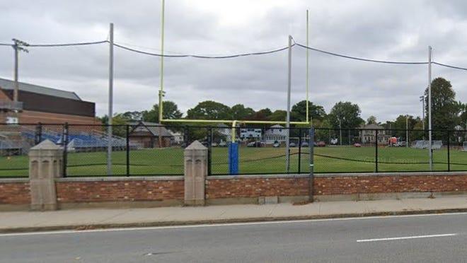 Fairhaven High School athletic field.
