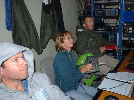 Dr. Sandra Brooke (center, co-chief scientist, MCI