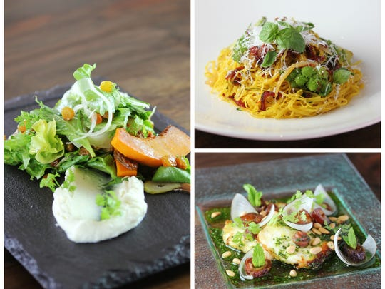 A selection of dishes from Flourish.