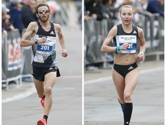 Rock 'n' Roll Arizona half marathon 2017