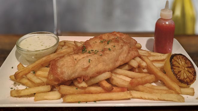 Fish and Chips at Sullivan's.
