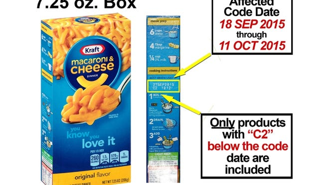 Kraft is recalling more than 6 million boxes of its macaroni and cheese for possible metal fragments.