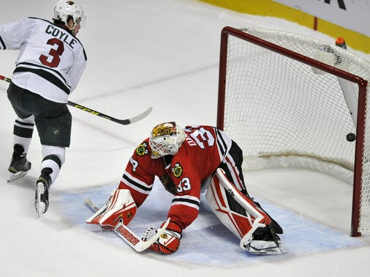Charlie Coyle, Scott Darling