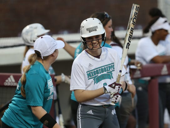 Brantley's Alex Wilcox played in 15 games this season as a Mississippi State freshman while battling ovarian cancer.