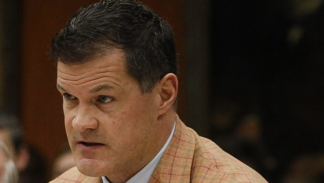 An arrest warrant for misdemeanor assault and battery has been issued against Michigan State University Trustee Mitch Lyons in Jackson County.