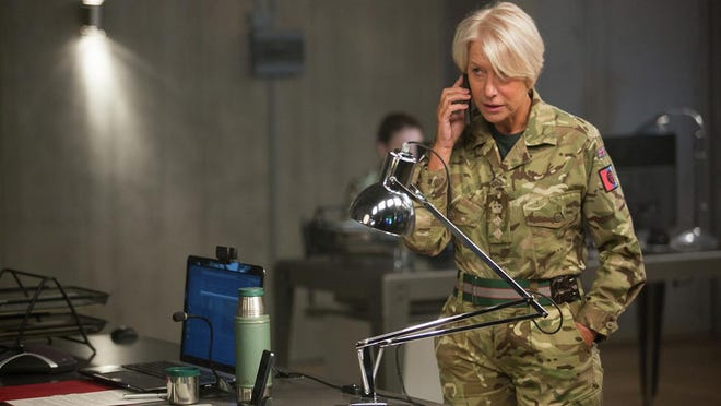 """Helen Mirren stars as a British Army intelligence officer who has spent six years investigating a homegrown terrorist in """"Eye in the Sky."""""""