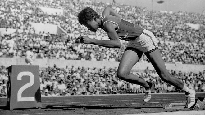 Wilma Rudolph earned three gold medals at the 1960 Olympics, instantly catapulting her into stardom and athletic lore.