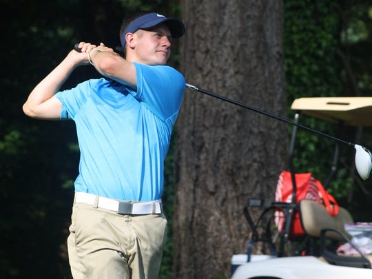 Former Olympic College golfer Zach Lund finished second at Sunday's Kitsap Amateur golf tournament at Kitsap Golf & Country Club.