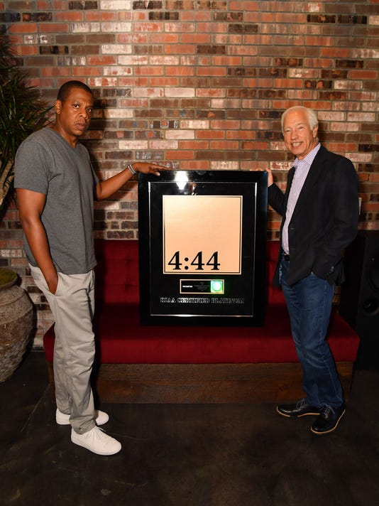 """Jay-Z goes platinum with """"4:44"""""""