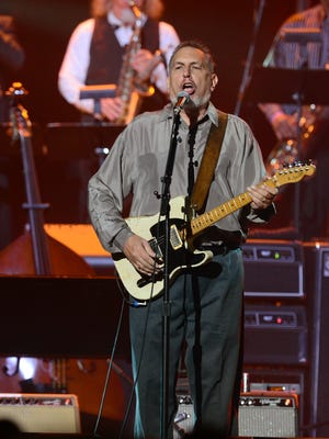 David Bromberg performs during the Love For Levon Benefit Concert at the Izod Center on Oct. 3, 2012 in East Rutherford, New Jersey.