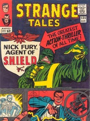 """""""Strange Tales"""" #135 (1965) featured the debut of S.H.I.E.L.D.,"""