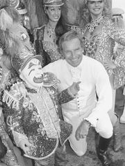 In this July 19, 1978 file photo, actor Charlton Heston