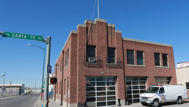 Old fire station 11 is at Santa Fe and W. Paisano.