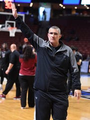 South Carolina men's basketball coach Frank Martin