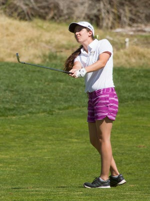 Desert Hills's Kyla Smith finished the day with a 3-under par 33 in the nine-hole tournament to win medalist honors with a two-shot victory over Dixie's Mikayla Frei (35) at Green Spring on Thursday.