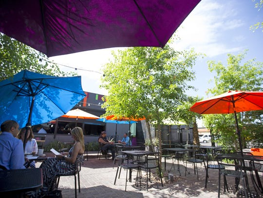 We're already imagining ourselves on 32 Shea's patio.