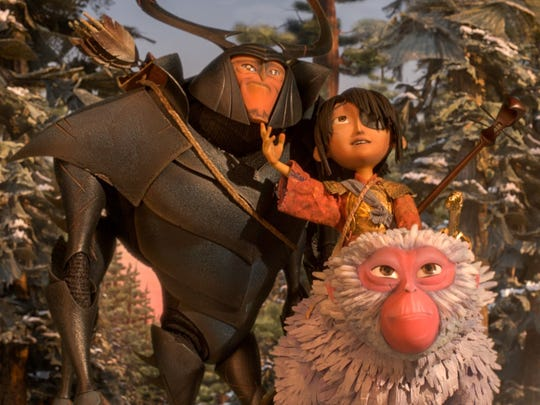 "A scene from ""Kubo and the Two Strings,"" from the stop-motion"