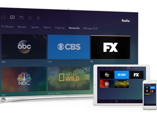 hulu live not working on tv