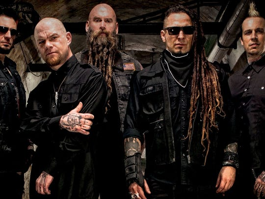 Five Finger Death Punch will headline UFEST in Phoenix on April 20, 2018.