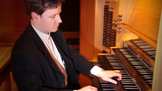 Grammy Award-winning organist Paul Jacobs.