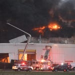 At the height of the Good Friday fire April 3, more than 200 firefighters from Louisville and suburban districts were on scene at GE Appliance Park.