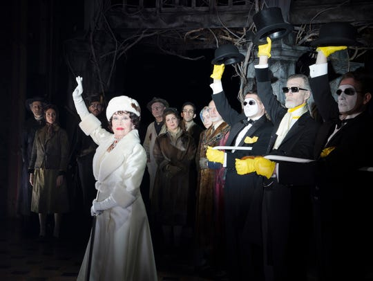 "Chita Rivera, left, stars in ""The Visit"" on Broadway."
