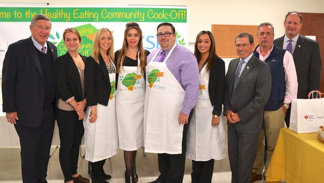 PCSB Bank holds its 2017 Healthy Eating Community Cook-Off, Nov. 7.