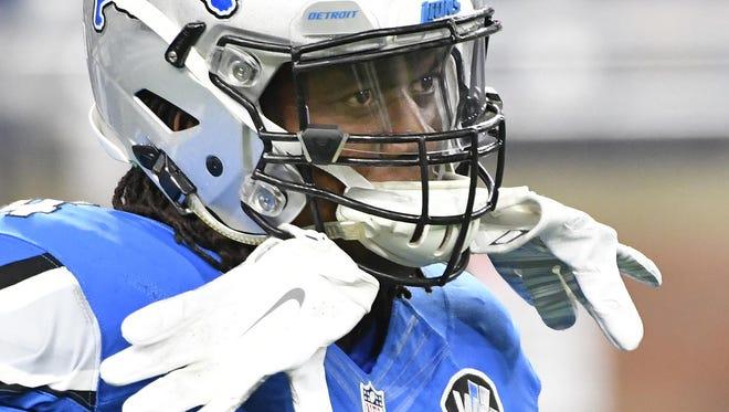 Lions defensive end Ezekiel Ansah has only four sacks this season.