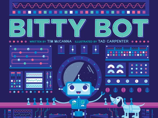 The cover of 'Bitty Bot.'