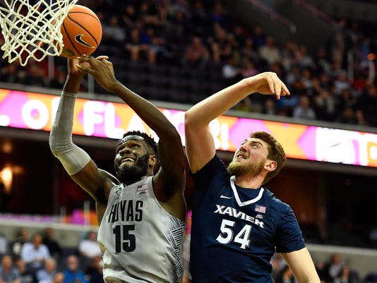 USP NCAA BASKETBALL: XAVIER AT GEORGETOWN S BKC GTN XAV USA DC