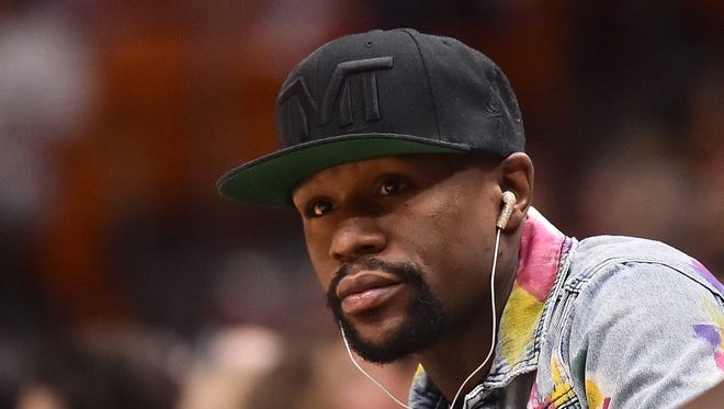 Boxer Floyd Mayweather Jr. is the highest paid athlete in the world and its not even close.