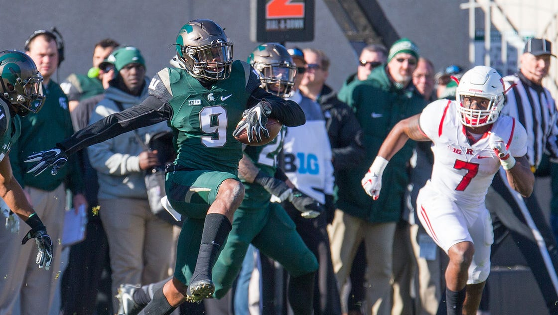 Some might have wondered if Montae Nicholson made the right move leaving  Michigan State after his junior season. On Saturday af0b8a7ab