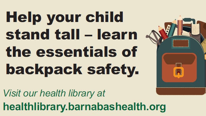 Essentials of backpack safety
