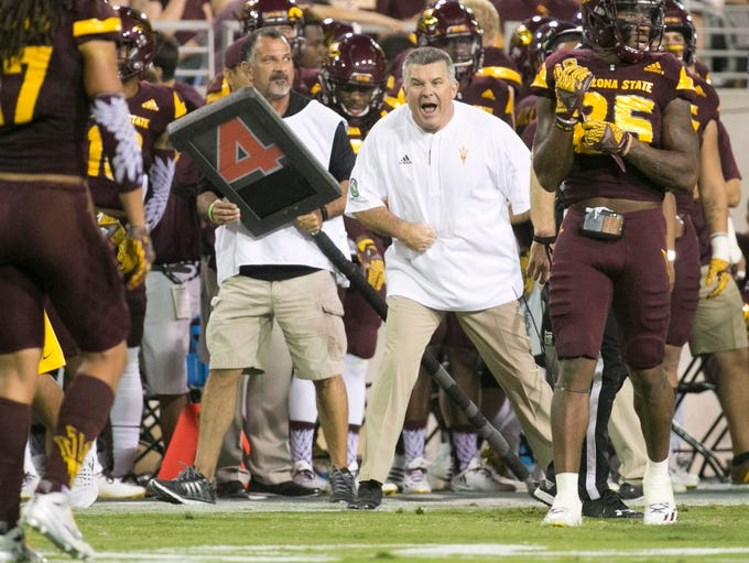 The Sun Devils have 14 pick-six's under Todd Graham,