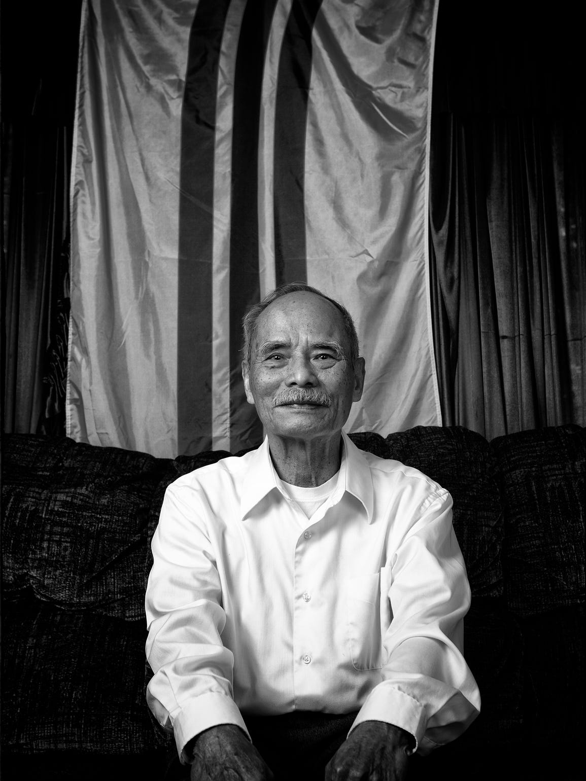 Former South Vietnamese army officer Thuc Nguyen spent