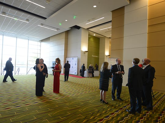 A grand opening reception  was held Wednesday for the newly expanded KI Convention Center in downtown Green Bay.