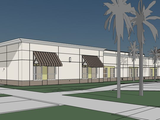 A 3-D rendering of the new Coral Shores Behavioral