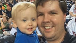 Justin Ross Harris with son Cooper.