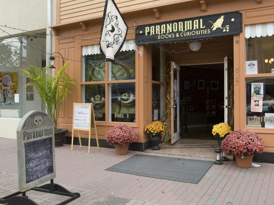 Paranormal Books & Curiosities is at 627 Cookman Ave. in Asbury Park.